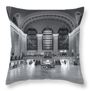 Grand Central Terminal II Throw Pillow