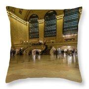 Grand Central Terminal Main Floor Throw Pillow