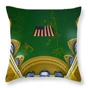Grand Central View Throw Pillow