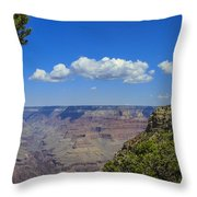 Grand Clouds Throw Pillow