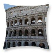 Grand Colosseum Throw Pillow