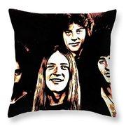 Grand Funk Throw Pillow