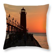 Grand Haven Light Throw Pillow