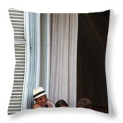 Grand Hotel Minerva Throw Pillow