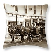 Grand Hotel Shuttle 10331 Throw Pillow