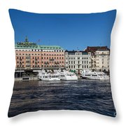 Grand Hotel Stockholm Throw Pillow