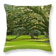 Grand Lady Throw Pillow
