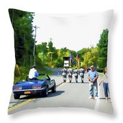 Grand Marshal Commissioner Frank Dovigh 3 Throw Pillow
