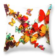 Grand Merger Of Unification Throw Pillow