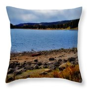 Grand Mesa Lake Throw Pillow