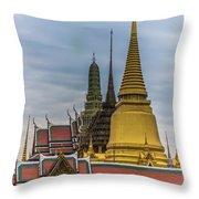 Grand Palace 01 Throw Pillow