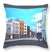 Grand Parade, Cork Throw Pillow