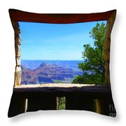 Grand Picture Throw Pillow