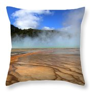 Grand Prismatic Patterns Throw Pillow