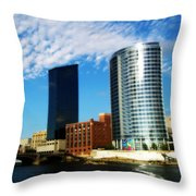 Grand Rapids Michigan Is Grand Throw Pillow