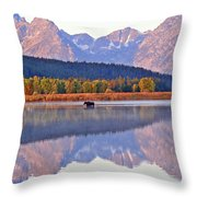 Grand Reflections Throw Pillow