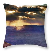 Grand Sunlight Throw Pillow