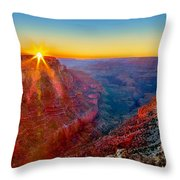 Grand Sunset Throw Pillow