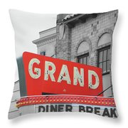 Grand Theatre Throw Pillow