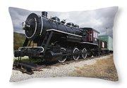 Grand Trunk Railroad - Gorham New Hampshire Usa Throw Pillow