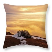 Grand View Glow Throw Pillow by Chad Dutson