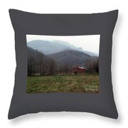 Grandfather Mountain Throw Pillow