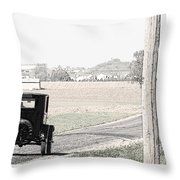 Grandfathers Coach Throw Pillow