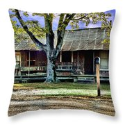 Grandmas House Throw Pillow