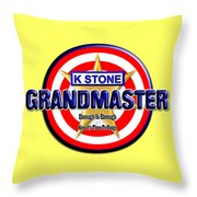 Grandmaster Version 2 Throw Pillow