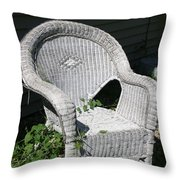 Grandpa's Chair Throw Pillow