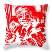 Grandpa's Lap Throw Pillow