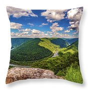 Grandview West Virginia Throw Pillow