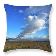 Grange-over-sands Throw Pillow