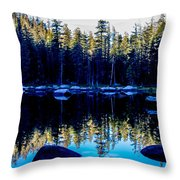 Granit Reflections Throw Pillow