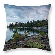 Granite Islands Throw Pillow
