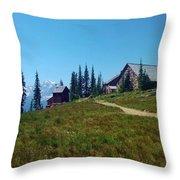Granite Park Chalet Throw Pillow