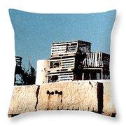 Granite Pier Throw Pillow
