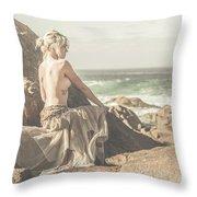 Granville Harbour Tasmania Fine Art Beauty Portrait Throw Pillow