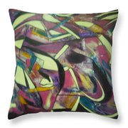 Grape Friut Throw Pillow