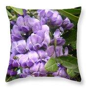 Grape Nectar Throw Pillow