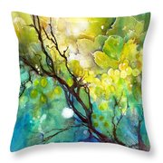 Grapes - Let Them Ripe Throw Pillow