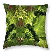 Grapevine Fantasy Throw Pillow