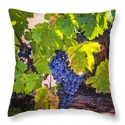 Grapevine With Texture Throw Pillow