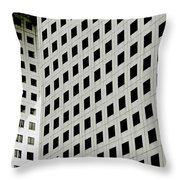 Graphic Construction Throw Pillow