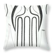 Graphiks Throw Pillow