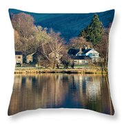 Grasmere Shoreline Throw Pillow