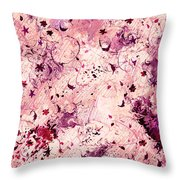 Grasping For Stars Throw Pillow