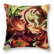 Grasping Iv Throw Pillow