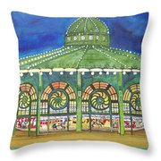 Grasping The Memories Throw Pillow