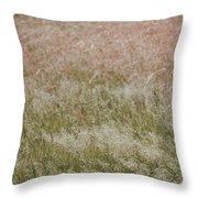 Grass Cloud Throw Pillow